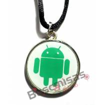 NRD-05- Medalha Android Branco