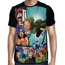 Camisa FULL Comics - One Piece
