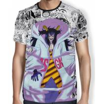 Camisa Full Print Mangá Caesar Clown - One Piece