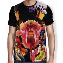 Camisa FULL Piratas - One Piece