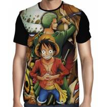 Camisa FULL Zoro - Law - Luffy - One Piece