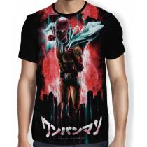 Camisa FULL Punch Saitama - One Punch Man