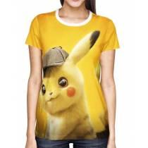 Camisa Full Print Detetive Pikachu Modelo 1 - Pokémon