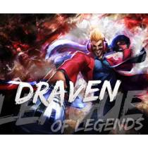 Mouse Pad - Primetime Draven - League of Legends
