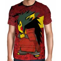 Camisa Full Print Pokemon - Pikachu Madara