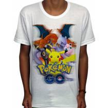Camisa SB - Quinteto - Pokemon GO