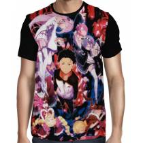 Camisa FULL Main Characters - Re: Zero