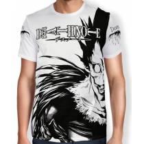 Camisa Full Print - Ryuk Branco - Death Note