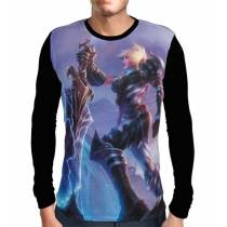 Camisa Manga Longa Riven Campeonato - League of Legends