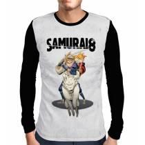 Camisa Manga Longa Running Hachimaru - Samurai 8