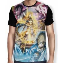 Camisa Full Eugeo - Alice - Kirito - SWORD ART ONLINE: Aliciazation