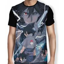 Camisa FULL Evolution Sasuke - Naruto