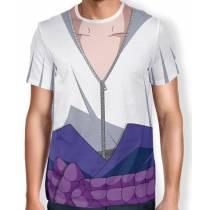 Camisa Full Print Uniforme - Sasuke Uchiha - Naruto