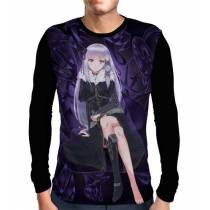 Camisa Manga Longa Satella - Re: Zero