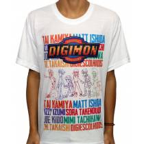 Camisa SB Digimon - Digimon Adventure