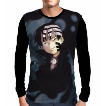 Camisa Manga Longa Death The Kid - Soul Eater
