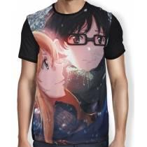 Camisa Full - Shigatsu wa Kimi no Uso