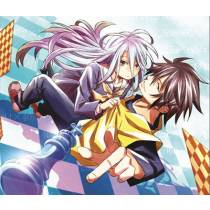 Mouse Pad - Xadrez - Sora e Shiro - No Game No Life