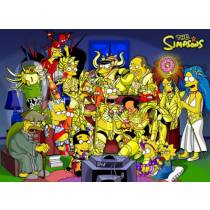Mouse Pad - Simpsons Seiya