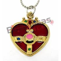 SLM-12 - Colar Cosmic Heart Compact - Sailor Moon