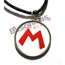 SMB-11 - Colar Medalha Mario