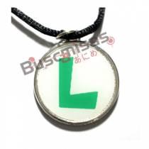 SMB-12 - Colar Medalha Luigi