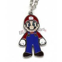 SMB-15 - Colar Mario - Super Mario