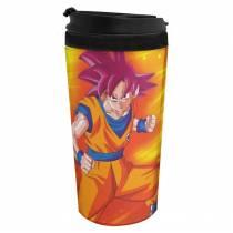 Copo Térmico Dragon Ball Super - God Goku