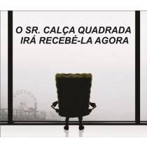 Mouse Pad - Sr. Calça Quadrada - Bob Esponja