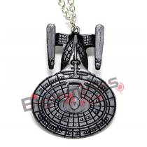 STR-02 - Colar Nave USS Enterprise NCC1701d - Star Trek