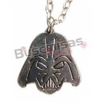 STW-02 - Colar Darth Vader Prata - Star Wars
