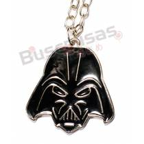 STW-06 - Colar Darth Vader Preto - Star Wars