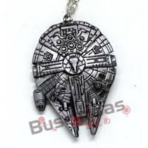 STW-07 - Colar Nave Millennium Falcon - Star Wars