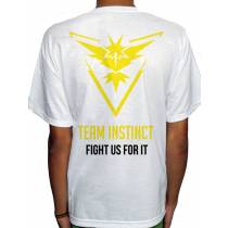 Camisa SB - TEAM INSTINCT - Pokemon GO