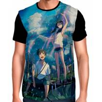 Camisa O Tempo Com Você - Weathering With You - Tenki No Ko - Modelo 3