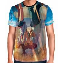 Camisa O Tempo Com Você - Weathering With You - Tenki No Ko Full Print