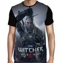 Camisa FULL The Witcher 3 - Geralt de Rivia