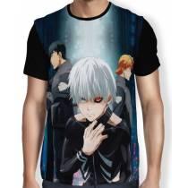 Camisa FULL CCG e Kaneki - Tokyo Ghoul