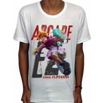 Camisa SB - TN Arcade Ezreal - League Of Legends
