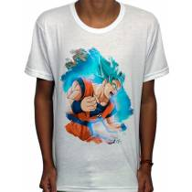 Camisa SB - TN Brusher God Blue Goku - Dragon Ball Super