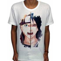Camisa SB - TN Brusher Sasuke e Naruto