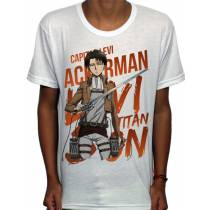 Camisa SB - TN Capitão Levi - Attack on Titan