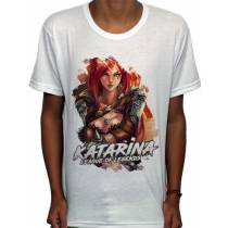 Camisa SB - TN Classic Katarina - League Of Legends