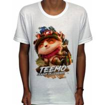 Camisa SB - TN Explorer Teemo - League Of Legends