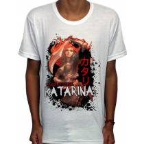 Camisa SB - TN Katarina - League Of Legends