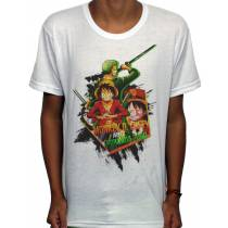 Camisa SB - TN Zoro e Luffy