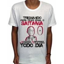 Camisa SB - TN Okay Saitama - One Punch Man