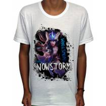 Camisa SB - TN Snowstorm - League Of Legends
