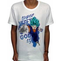 Camisa SB - TN Super SSJ God Vegetto - Dragon Ball Super