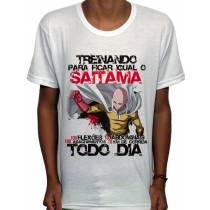 Camisa SB - TN Treinando Saitama - One Punch Man